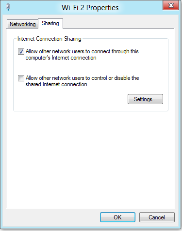 Как сделать точку wifi на windows 8 на ноутбуке