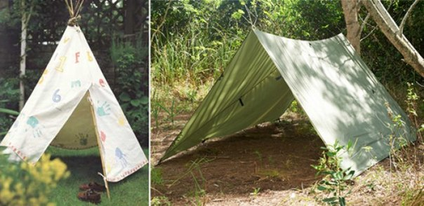 Как сделать палатки своими руками