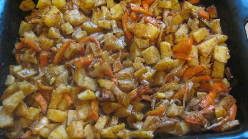 жареная картошка рецепт в духовке