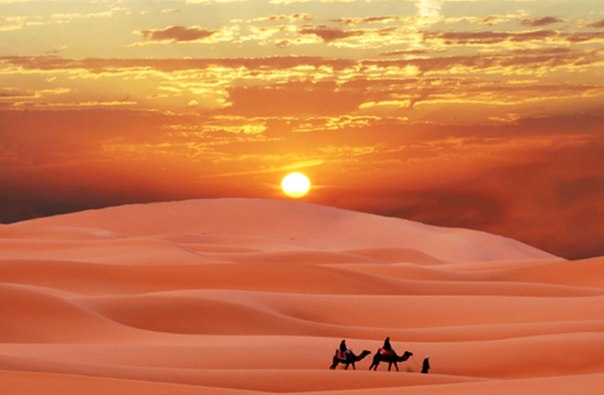 Мудрая притча о счастье: Два друга в пустыне