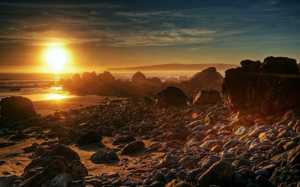 Мудрая притча о жизни: Нищий и горячий камень