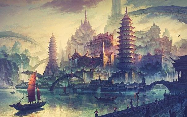 Китай art