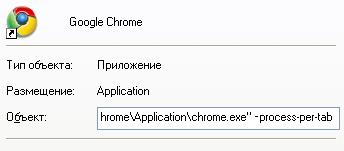 Google Chrome параметры запуска