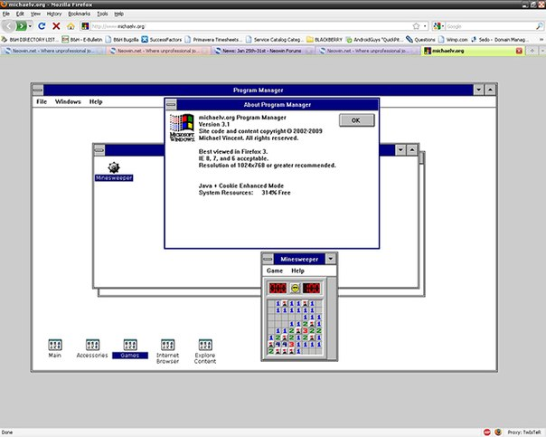 Windows 3.1 Online